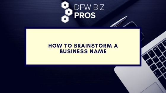 Brainstorm a Business Name