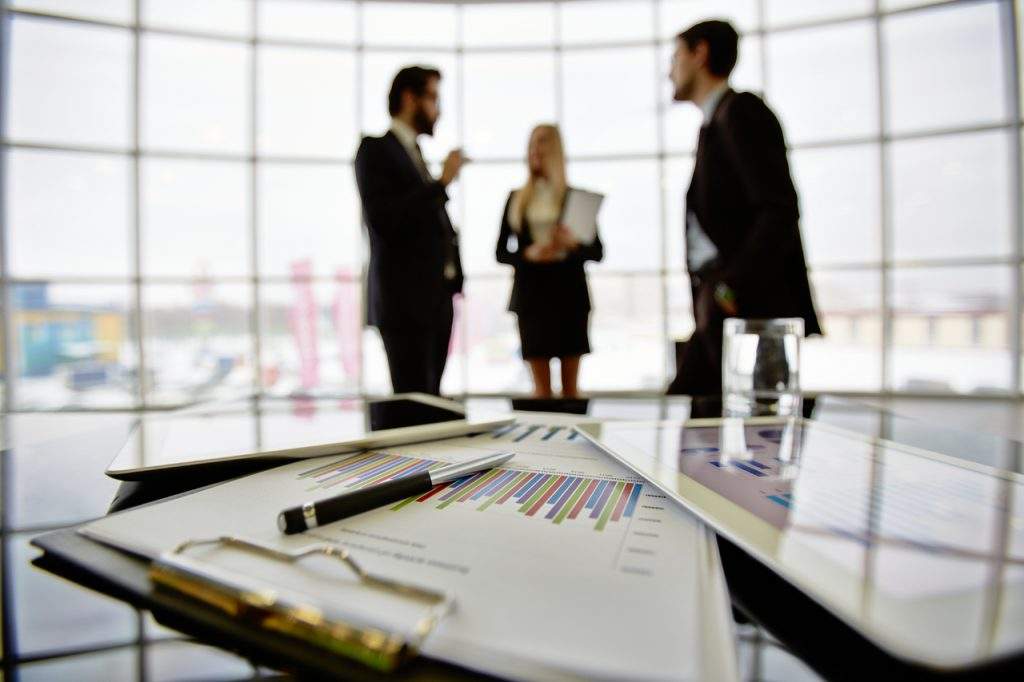 Dallas Business Professionals in Meeting